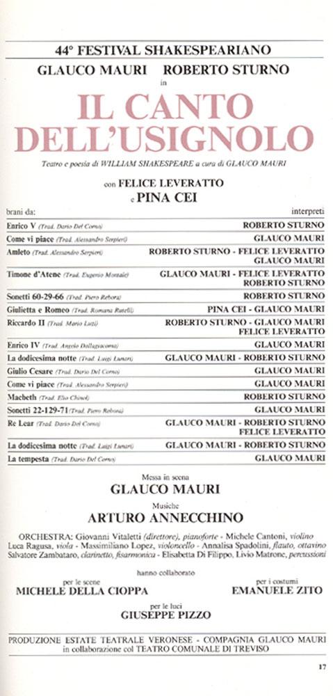 il canto dell u2019usignolo  u2013 compagnia mauri sturno